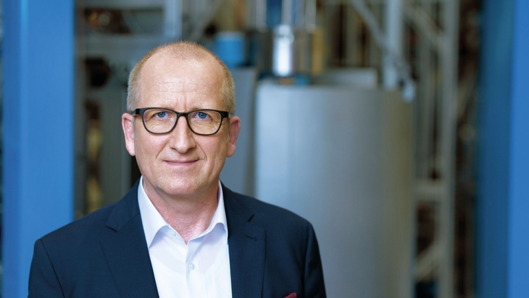 Chief Operating Officer Dr Andreas Mayr is responsible for innovation in the Endress+Hauser Group.