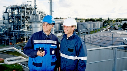 Endress+hauser customer visit at a refinery